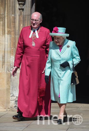 Королева Елизавета посетила пасхальное богослужение. Фото Getty