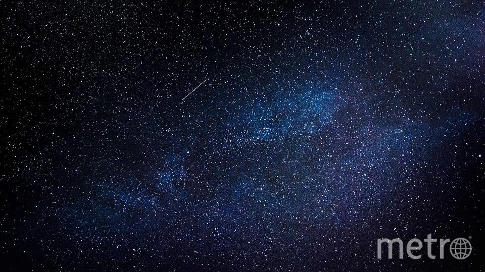 """Апрельский звездопад можно увидеть в ночном небе. Фото https://pixabay.com, """"Metro"""""""