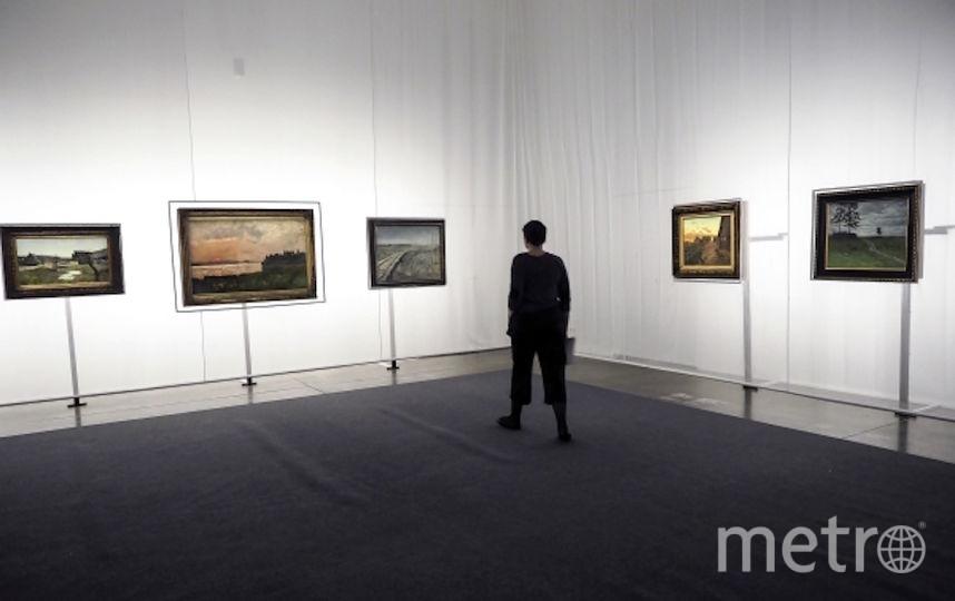 Выставка картин Левитана в Еврейском музее в Москве. Фото РИА Новости