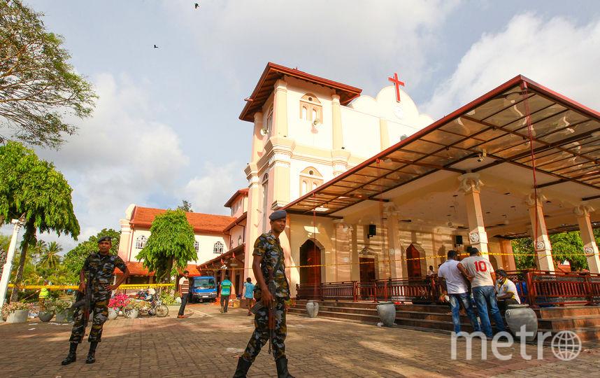 Теракты в Шри-Ланке случились 21 апреля. Фото Getty