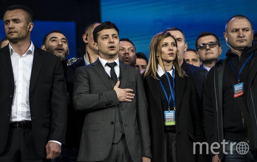 Владимир и Елена Зеленские. Фото Getty