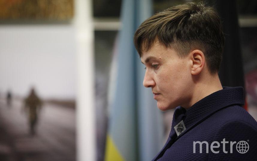 Депутат Верховной рады, экс-лётчица Надежда Савченко. Фото Getty