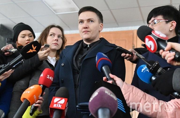 Депутат Верховной рады, экс-лётчица Надежда Савченко. Фото AFP