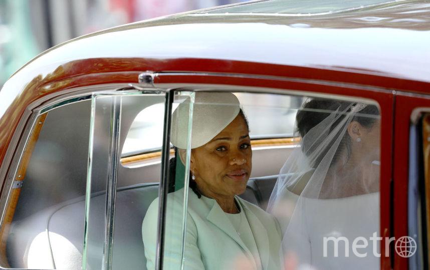 Дория Рэгланд на свадьбе дочери. Фото Getty