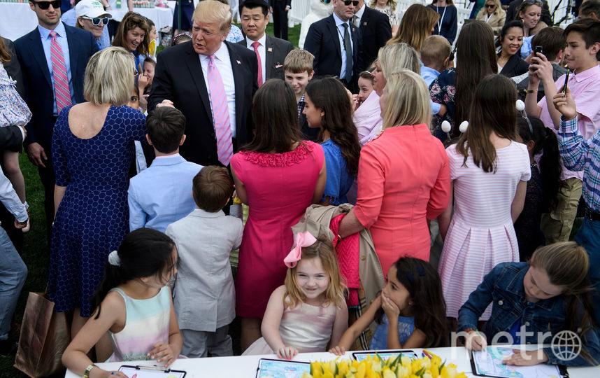 В Белом доме прошло традиционное пасхальное мероприятие Easter Egg Roll. Фото AFP
