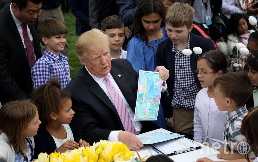 В Белом доме прошло традиционное пасхальное мероприятие Easter Egg Roll. Фото Getty