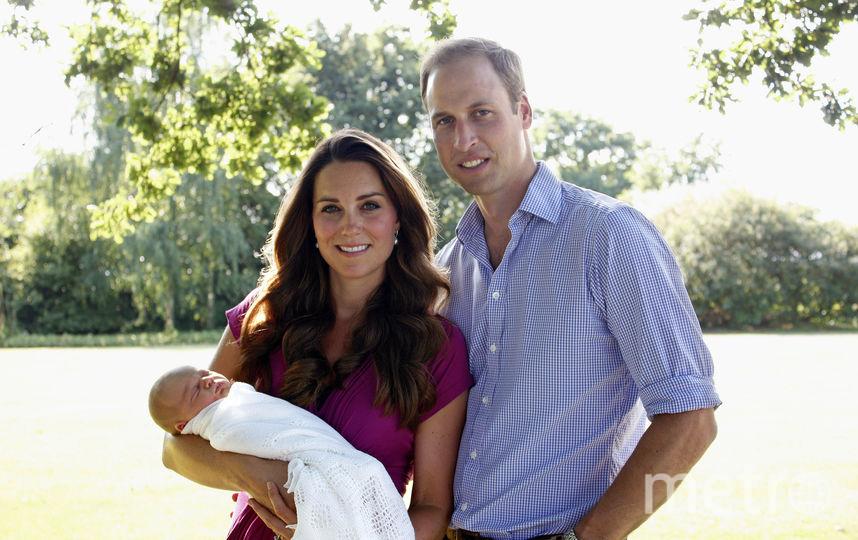 Кейт Миддлтон, принц Уильям с детьми. Фото Getty
