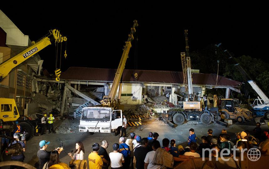 Последствия землетрясения на Филиппинах. Фото AFP