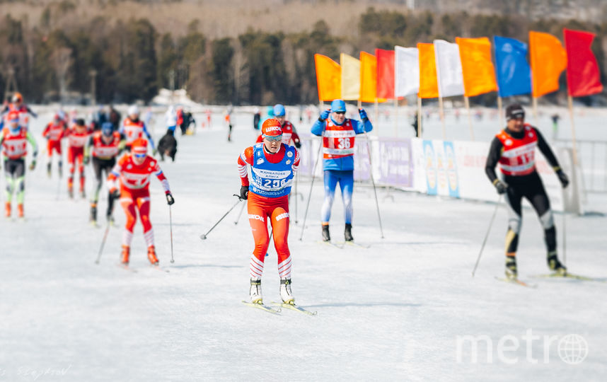 Алиса Жамбалова во время марафона. Фото пресс-служба Минспорта Бурятии, Предоставлено организаторами