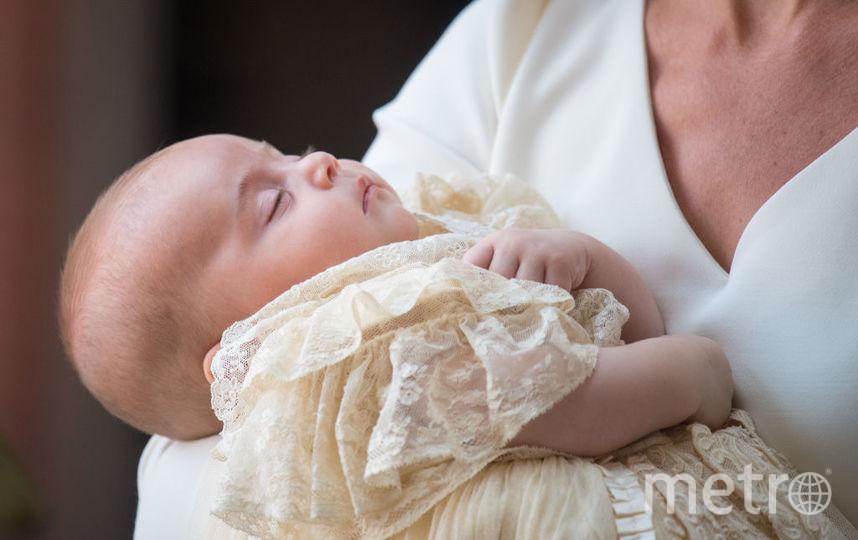 Фото Луи во время крестин. Фото Getty
