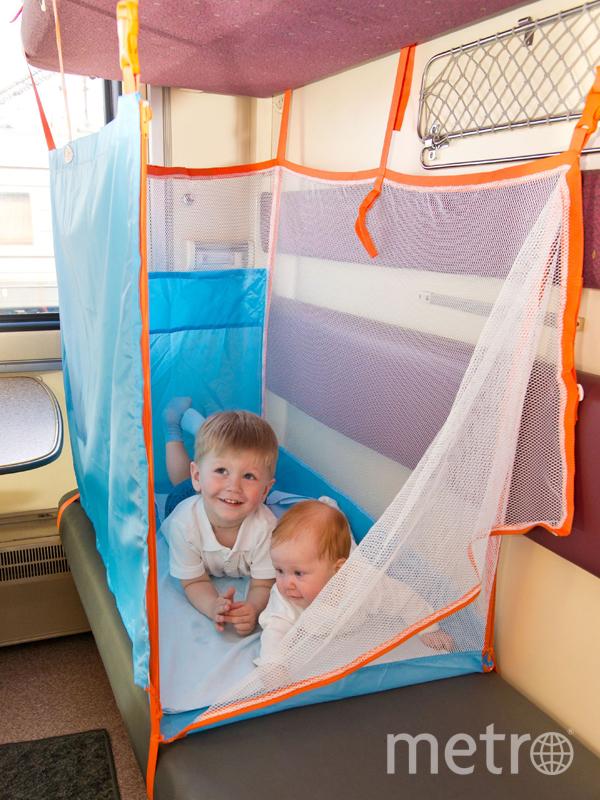 На какие бонусы можно рассчитывать в путешествии с детьми на поезде. Фото rzd.ru