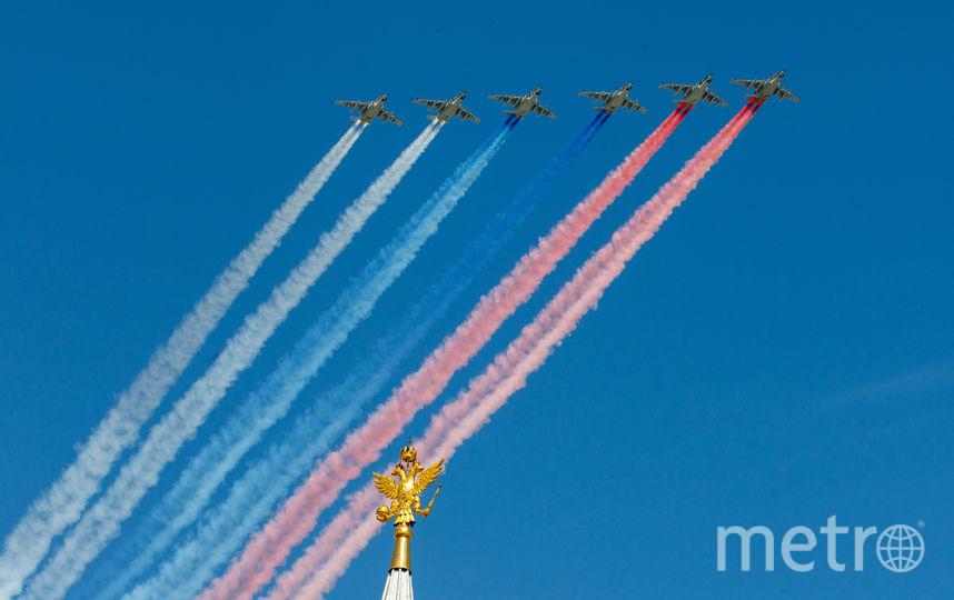 Авиация на Параде Победы. Фото Василий Кузьмичёнок