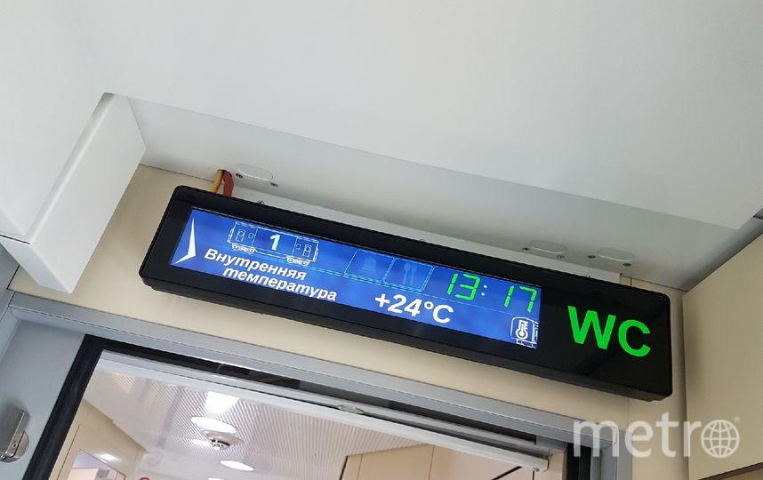 По словам производителя, пассажиры смогут самостоятельно регулировать температуру воздуха в купе. Фото Василий Кузьмичёнок