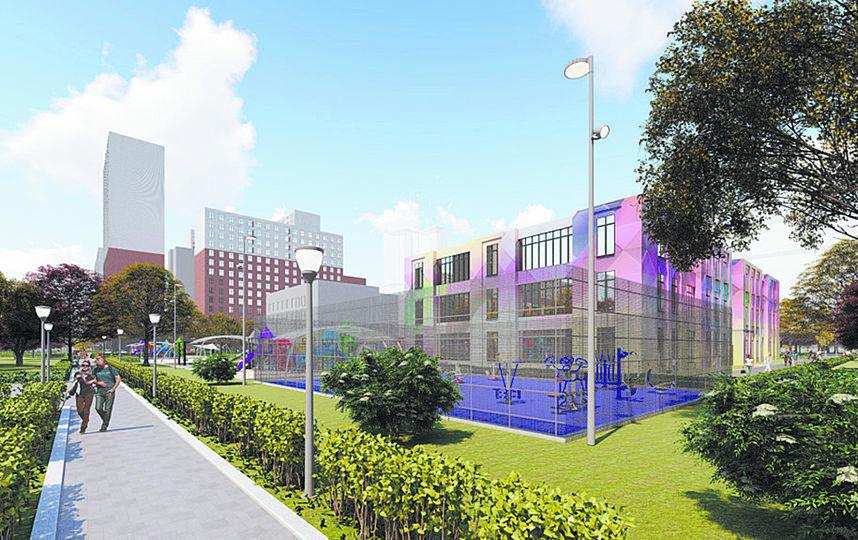Проект Восточное Измайлово. Фото пресс-служба Москомархитектуры