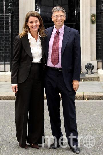Билл Гейтс с женой Мелиндой. Фото Getty