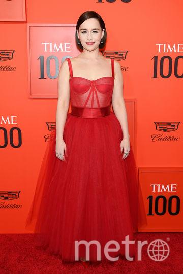 TIME 100 Gala 2019. Эмилия Кларк. Фото Getty