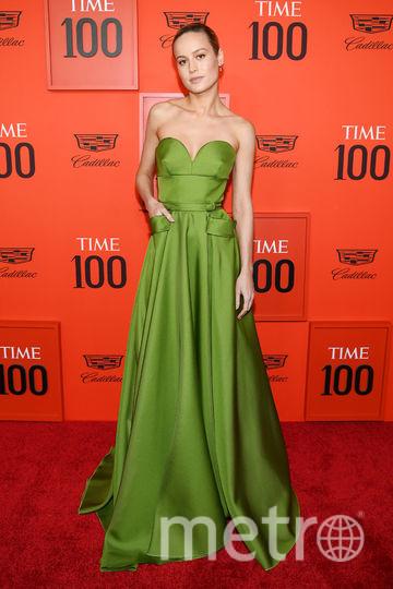 TIME 100 Gala 2019. Бри Ларсон. Фото Getty