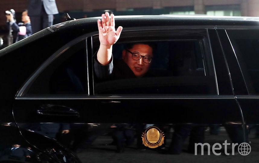 Лидер КНДР Ким Чен Ын. Фото Getty