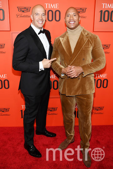 TIME 100 Gala 2019. Дуэйн Джонсон. Фото Getty
