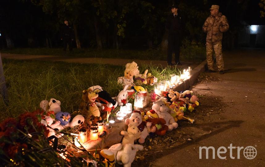 Фото с места трагедии в Керчи. Фото AFP