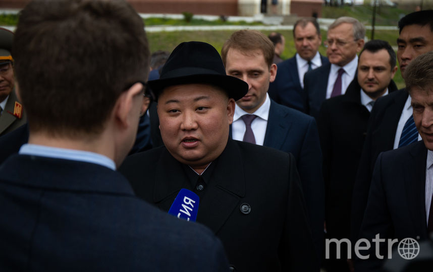 Лидер КНДР Ким Чен Ын прибыл во Владивосток в среду. Фото AFP