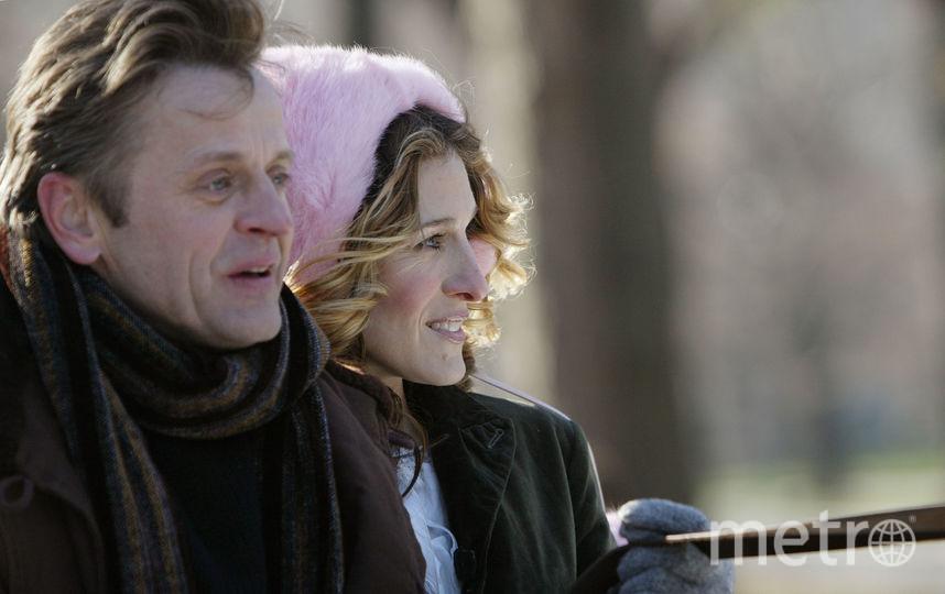 Сара-Джессика Паркер, Михаил Барышников в эпизоде сериала. Фото Getty