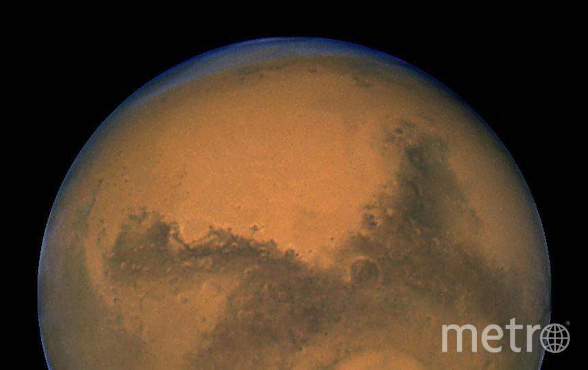 Марс. Снимок орбитального телескопа Хаббл. 2003 год. Фото Getty