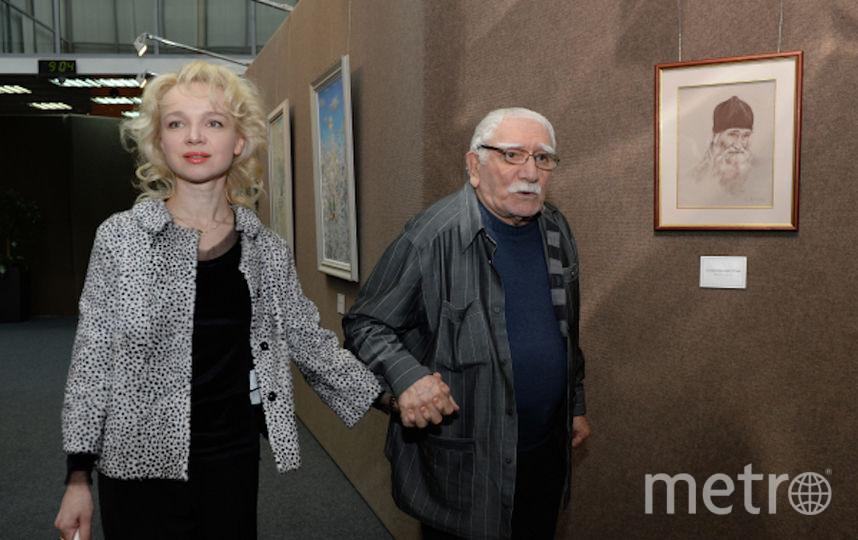 Армен Джигарханян с бывшей женой Виталиной Цымбалюк-Романовской. Фото РИА Новости