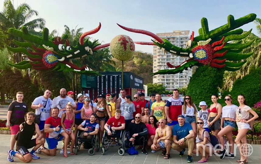 """Более 300 детей с ограниченными возможностями, а также спортсменов-паралимпийцев из разных регионов России в марте-апреле бесплатно посетили """"Азиатские Гавайи"""". Фото Мария Мищенко"""