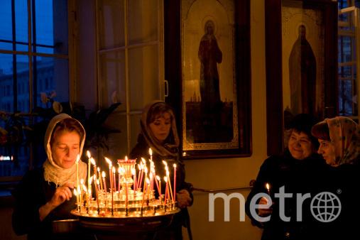 """К святым в любое время могут обращаться православные петербуржцы и гости города. Фото """"Metro"""""""