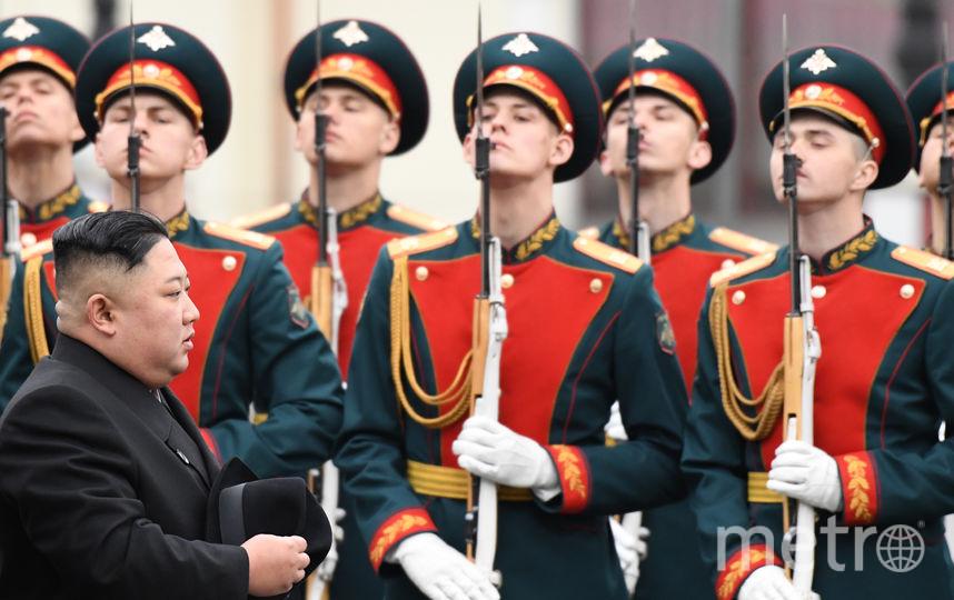 Ким Чен Ын во Владивостоке. Фото AFP
