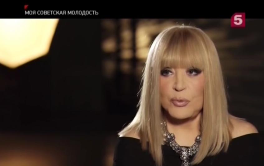 Алла Пугачёва. Фото скриншот с блога Пятого канала на YouTube