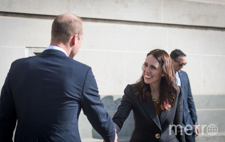 Принц Уильям в Окленде встретился с премьер-министром Новой Зеландии. Фото Getty