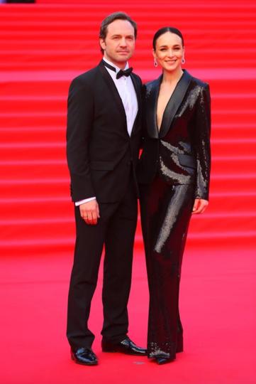 Анна Снаткина с супругом Виктором Васильевым. Фото Василий Кузьмичёнок