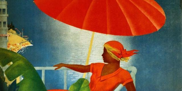"""Выставка """"История Интуриста в советском туристическом плакате"""" пройдёт в Музее Москвы."""