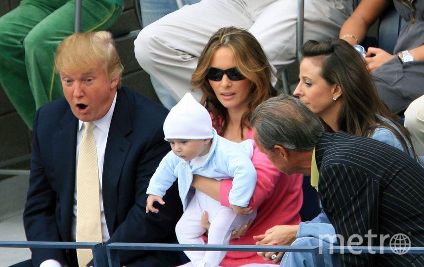 Мелания Трамп в молодости была более эмоциональной, чем сейчас. Фото архив, Getty