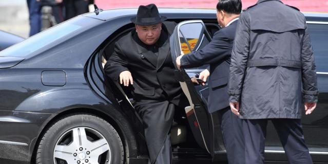 Ким Чен Ын во Владивостоке.