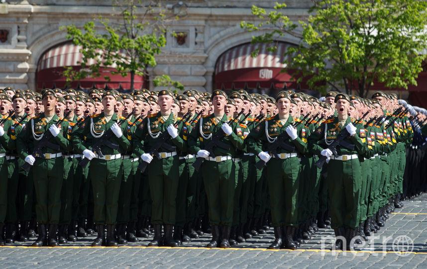 Из-за проведения Парада Победы в Москве перекроют ряд улиц. Фото Василий Кузьмичёнок