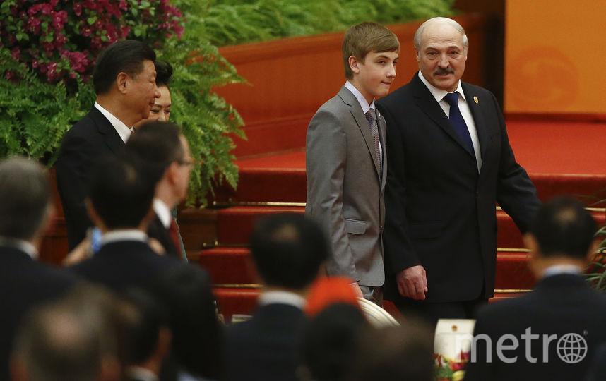 Александр и Николай Лукашенко в 2017 году. Фото Getty