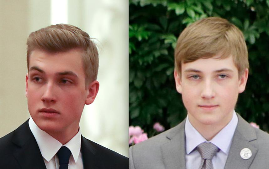 Николай Лукашенко в 2019 и 2017 году. Фото Getty