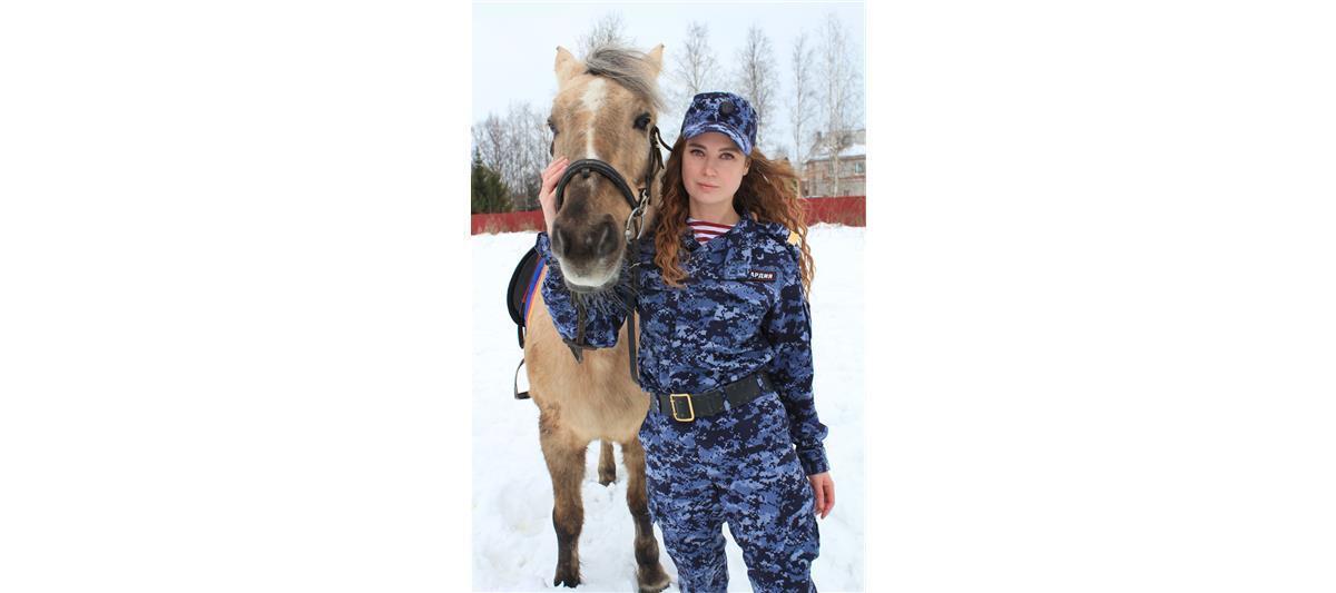 Старший сержант полиции Виктория Бредихина, Санкт-Петербург. Фото предоставлено пресс-службой Росгвардии