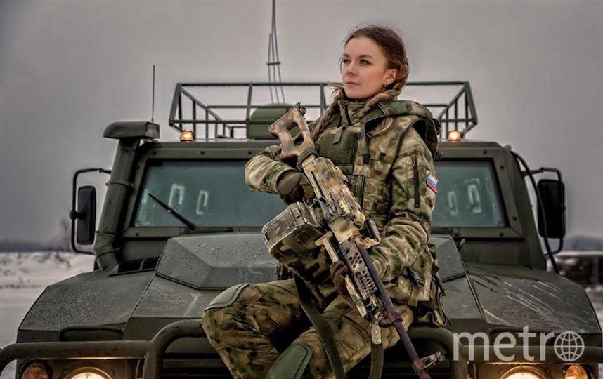 Майор полиции Ермакова Екатерина, Москва. Фото предоставлено пресс-службой Росгвардии