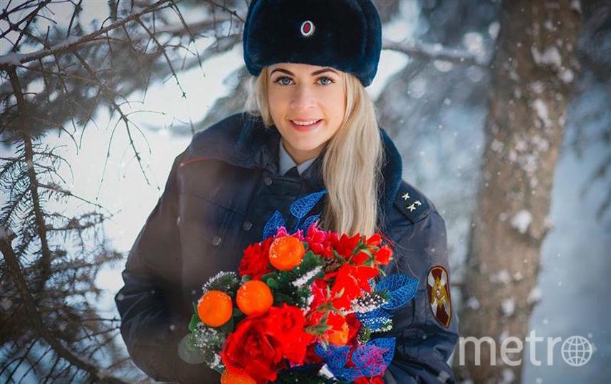 Старший лейтенант полиции Фарафонова Светлана, Саратов. Фото предоставлено пресс-службой Росгвардии