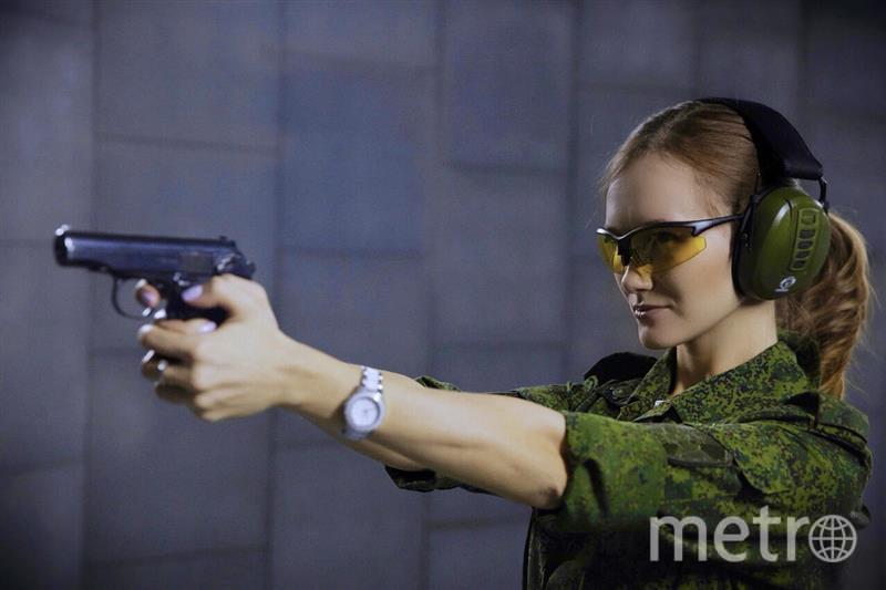 Младший сержант Сизова Ольга, Москва. Фото предоставлено пресс-службой Росгвардии