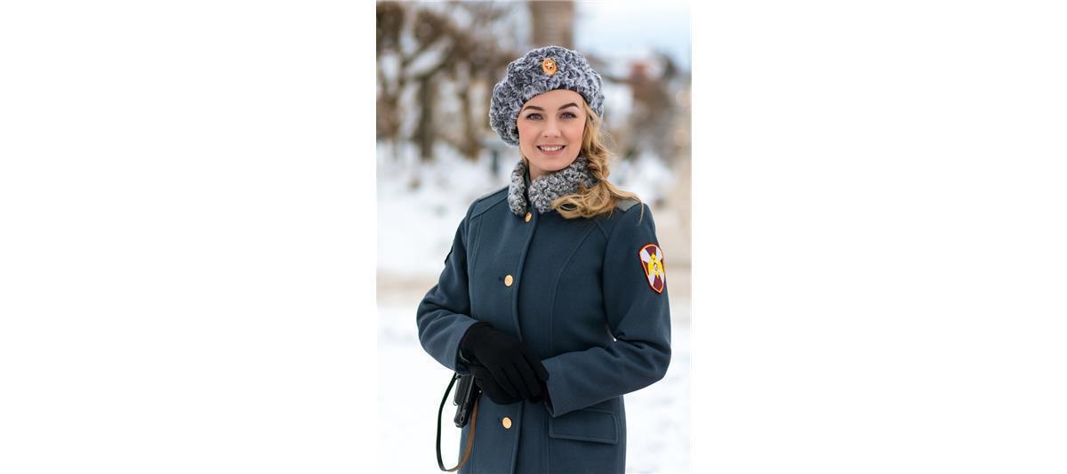 Младший сержант Пискун Анна, Киров. Фото предоставлено пресс-службой Росгвардии