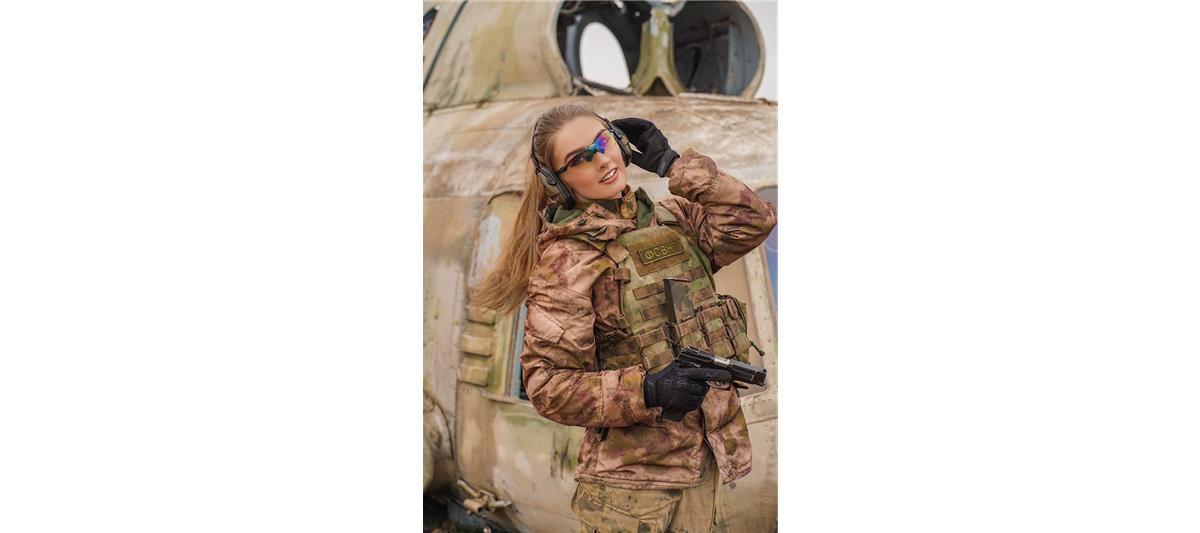 Лейтенант Шмакова Карина, Грозный. Фото предоставлено пресс-службой Росгвардии