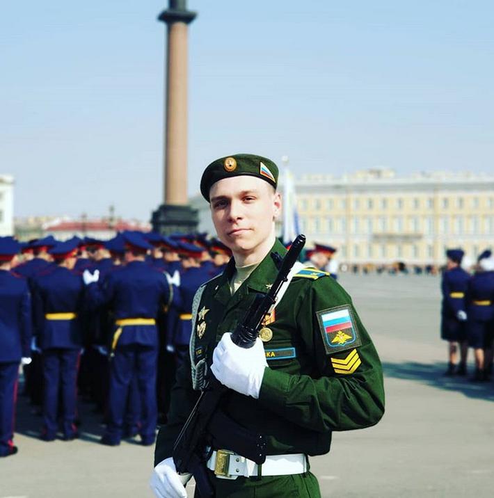 В Петербурге прошла репетиция парада Победы: Яркие фото. Фото Скриншот Instagram: @gray_smook