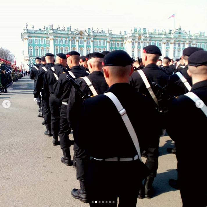 В Петербурге прошла репетиция парада Победы: Яркие фото. Фото Скриншот Instagram: @milena_medojevic