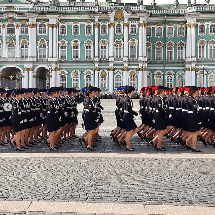 В Петербурге прошла репетиция парада Победы: Яркие фото. Фото Скриншот Instagram: @marisjanchik