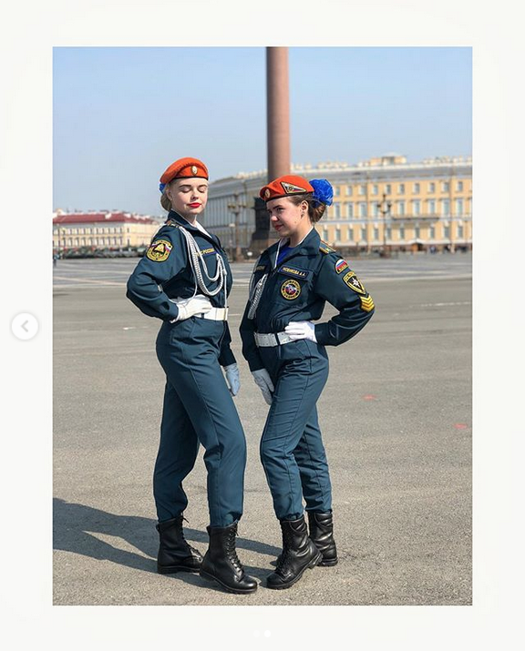 В Петербурге прошла репетиция парада Победы: Яркие фото. Фото Скриншот Instagram: @veronika_zvezdochka